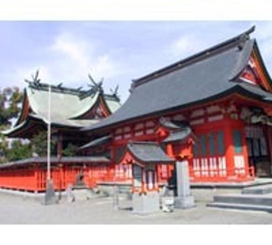 八代神社〔妙見宮〕(熊本県八代市)